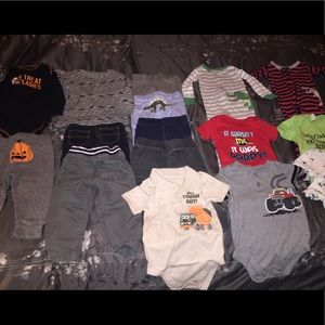 17pc 12 month clothing lot